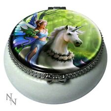 Trinket Box Realm Of Enchantment by Anne Stokes 5.5cm- ( Nemesis Now)  - NEW