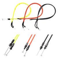 Black/Yellow/Orange Accelerator THROTTLE CABLE Line for Honda CBR600RR 2003 2004