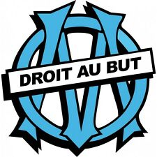 Stickers foot OM Olympique de Marseille Om