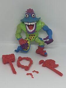 WYRM 1991 TMNT Action Figure Teenage Mutant Ninja Turtles Vintage Near Complete