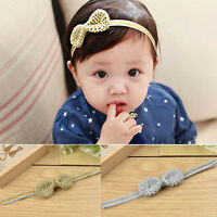 Hair Accessories Crochet Headband Knitted Headwear Baby Bowknot Hairband