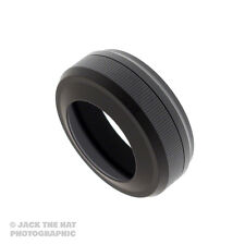 Pro Lens Hood for Fuji X100, X100s, X100T. Black. Works with Fuji Lens Cap!