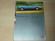 39743) Audi Cabrio 1.9 TDi Prospekt 06/1995