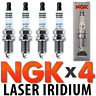 4pc NGK Laser Iridium Spark Plug Set for Subaru Turbo 2.5L EJ255 EJ257 2005-2013
