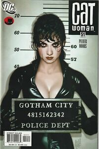 Catwoman # 51 Adam Hughes Cover VF/NM DC 2006 Lost Numbers HTF Hot Book