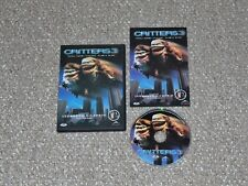 Critters 3 DVD 2003 Complete Canadian Leonardo DiCaprio