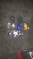 Lot Five Nights at Freddy's Key Chains/Backpack Collector Clips