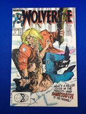 Wolverine #10 (Marvel Comics,1989) - Wolverine vs Sabretooth battle! High Grade