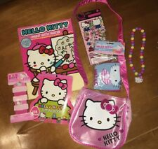 Girls Hello Kitty Sticker Purse Paint Book Hair Jewelry Beach Ball Easter Lot