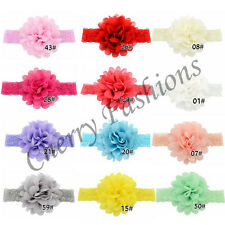 Baby Girls Soft Lace Flower Hairband kids Elastic Band Headband Hair Accessories