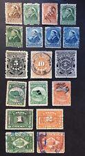 Canada Revenue Stamps Used