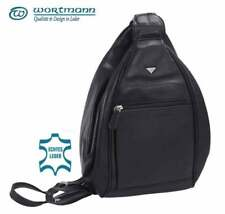 Damen Rucksack, Leder Tasche, Cityrucksack,  Backpack, Nappaleder, 500 Gramm