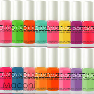 Color Club - Poptastic Bright Summer Creme Neon Collection - Nail Polish 15ml