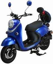 Razory Trendy 50ccm 4-Takt Euro-4 Royal Blue Blau Motorroller EFi Einspritzmotor