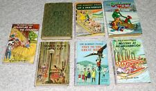 Lot of 7 Vintage The Bobbsey Twins Books, See Pictures and Details (S6)