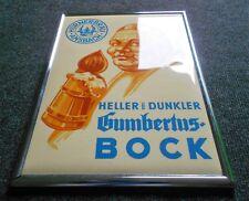 Hürnerbräu Ansbach Gumbertus Bock altes Schild 50er Jahre