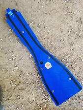 Kased Plates '04-'09 YAMAHA YFZ450 3MM BLUE Lifetime Warranty Frame Skid Plate