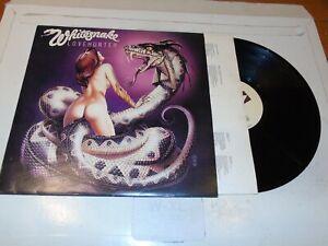 WHITESNAKE - Lovehunter - 1979 UK 10-track Vinyl LP