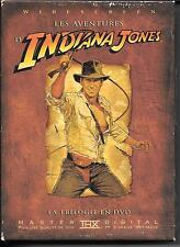 COFFRET DIGIPACK COLLECTOR 4 DVD--INDIANA JONES LA TRILOGIE - 3 PREMIERS FILMS