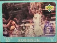 DAVID ROBINSON SAN ANTONIO SPURS HOF 1997-98 DIAMOND VISION SIGNATURE SERIES SP!