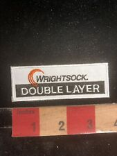 WRIGHTSOCK DOUBLE LAYER Sock Advertising Patch O98O