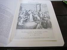 Köln Archiv 2 geschichte 2141 Gefangennahme Erzbischof Paulus Melcher 31.3.1874