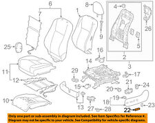 TOYOTA Genuine 71073-06F20-B0 Seat Back Cover