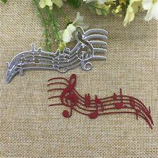 music notes cutting die, cardmaking, scrapbooking, DIY crafts