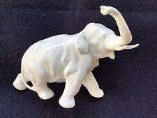 Haviland White Porcelain France Elephant Figurine, Vintage