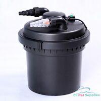 2100 Gal Pressure Pond Filter w/ 13W UV Sterilizer Koi Fish