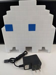 Pacman Ghost Light Table Lamp - 16 Color Options - Changes Colors to Music - USB