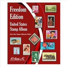 Harris United States Us Stamp Starter Album Freedom Edition 125 Pages Gift Idea