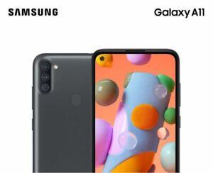 Brand New (Sealed & FREE SIM Included) Samsung Galaxy A11 32 GB - Metro Locked