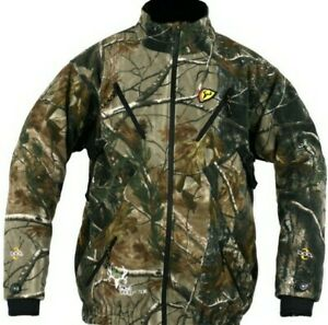Scent Blocker Fleece Jacket Men L Bone Collector Mac Daddy Camo