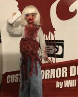 SALE!! Casey Becker CUSTOM HORROR DOLL OOAK Scream Action Figure Barrymore