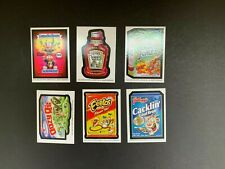 2020 Topps Wacky Packages April Fools Postcards 6 Card Artist Bio Complete Set