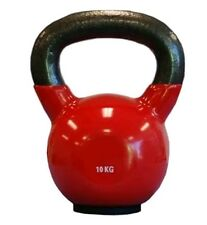 AUS LOCATION - 10KG Kettlebell - Cast Iron Vinyl coated