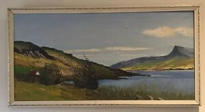 Original Irish Art Oil On Canvas Painting Of Donegal Ireland By John O'Neill
