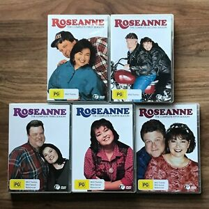 Roseanne TV Series Season 1-5 DVD Region 4