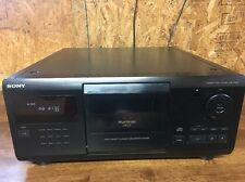 SONY MegaStorage  200 Disc Changer CDP-CX681 S-Link Control 3 Command Mode RCA