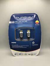 New listing Belkin PureAv Hdmi A/V Cable for Audio/Video Device - 8Ft New 8 ft