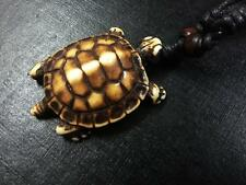 Male Turtle Tribal Men's Biker Jewelry Necklace Mens Womens Rope NG