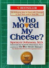 Who Moved My Cheese? Deal with Change by Spencer Johnson MD 2002 Hardcover w/ DJ