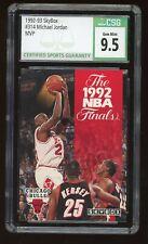 1992-93 Skybox Michael Jordan #314 The 1992 NBA Finals MVP CSG 9.5 Gem Mint