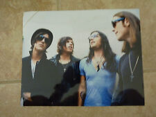 Kings of Leon Band Group Color 8x10 Photo Promo Picture #2