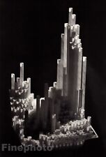 1940/83 Vintage YOUSUF KARSH City Of Straws Architecture Duotone Photo Engraving