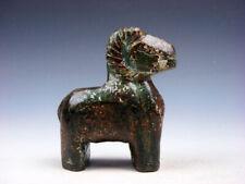 Old Nephrite Jade Stone Carved Sculpture Ancient Monster Deer Standing #03222003