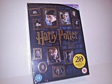 Harry Potter DVD 8 Film Collection Box Set with Embossed Cover & Digital UV Code