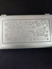 8x5 Pewter Box For Your Baby' S First Video Euc