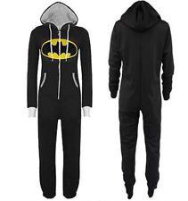 Black Batman Adult Unisex Hooded Jumpsuit 1Onesie- Clothes,Jumpsuits